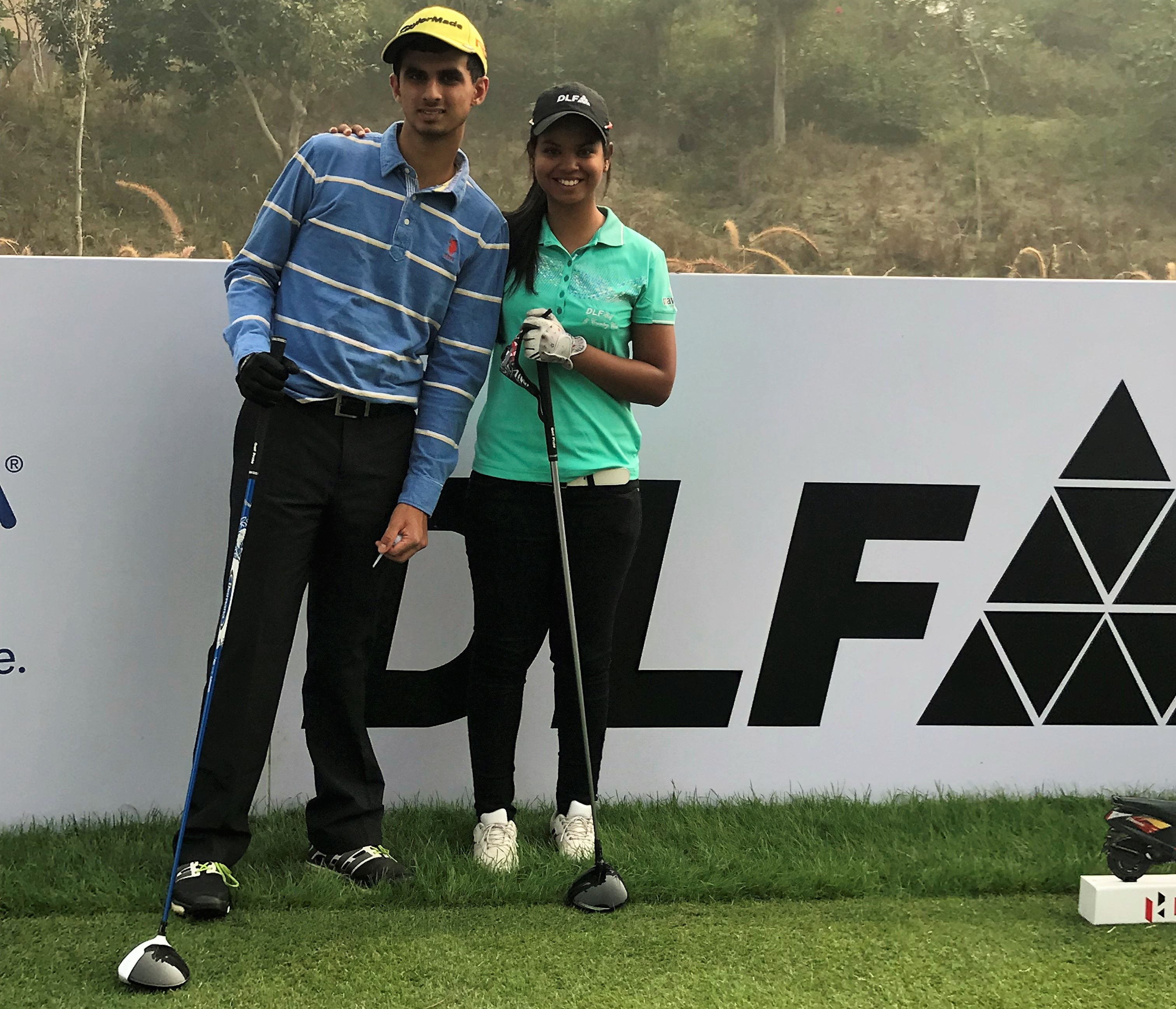 Ranveer played the hero indian ladies open 2017 proam round with ranveer played the hero indian ladies open 2017 proam round with the indian pro golfer ms vani kapoor altavistaventures