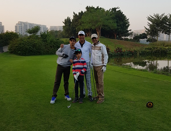 Playing golf with legendary golfer mr jeev milkha singh ranveer saini playing golf with legendary golfer mr jeev milkha singh altavistaventures Images