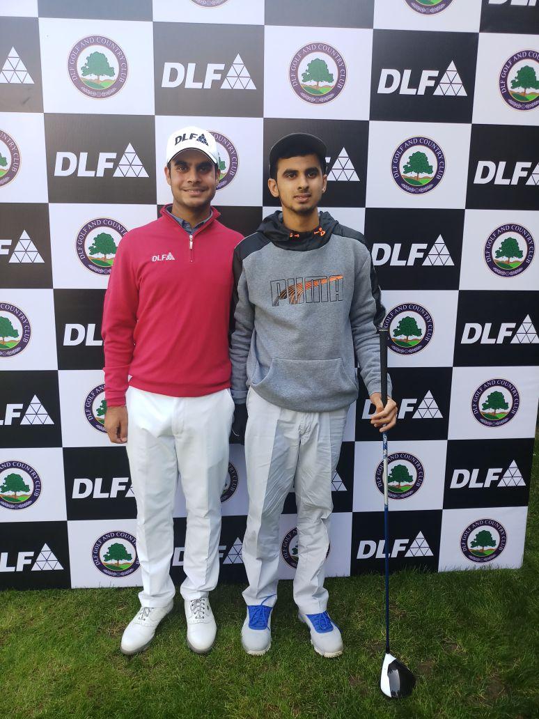 Ranveer with pro golfer shabhankar sharma ranveer saini ranveer with pro golfer shabhankar sharma thecheapjerseys Gallery