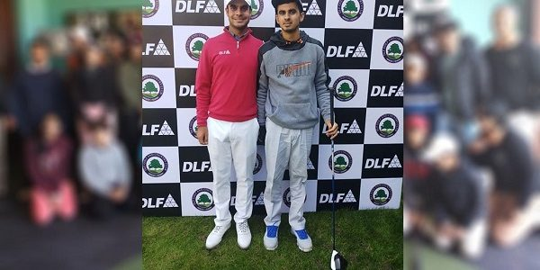 Ranveer Attending Clinic held at DLF with Renowned Golfer Mr Shubhankar Sharma