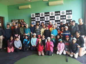 Ranveer with Pro Golfer SHABHANKAR sharma